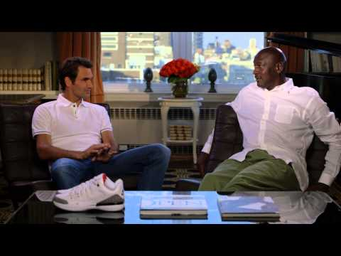 Roger Federer Meets Michael Jordan: Air Jordan 3 x Nike Zoom Vapor 9 Tour for US Open
