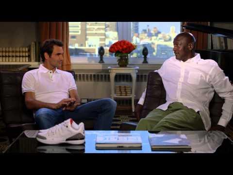 Roger Federer Meets Michael Jordan: Air Jordan 3 x Nike Zoom Vapor 9 Tour for US Open
