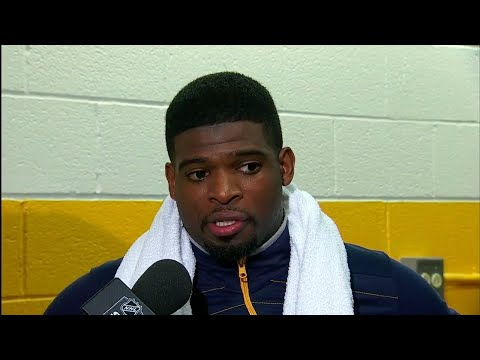 Subban on scrum with Gallagher, 'called him short, he didn't like that too much'