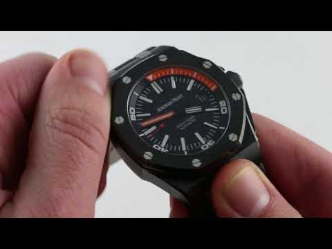 Audemars Piguet Royal Oak Offshore Diver 15707CE.OO.A002CA.01 Luxury Watch Review