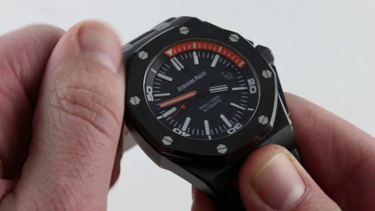 00cc77cbd9b Audemars Piguet Royal Oak Offshore Diver 15707CE.OO.A002CA.01 Luxury Watch  Review