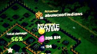 Clash of clans- TOWN HALL 9 with level 10 heros demolishes town hall 11- th9 pushing is still good!!