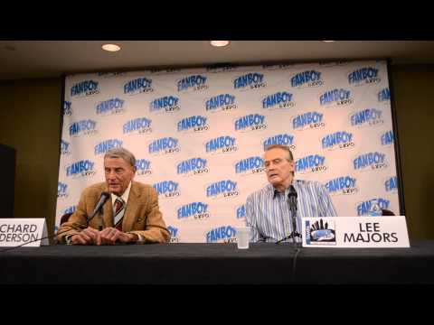 Lee Majors & Richard Anderson Q&A Panel @ Fanboy Expo Tampa PT#1 Raw footage 1080P HD