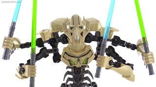 lego Star Wars General Grievous Minifigure Review
