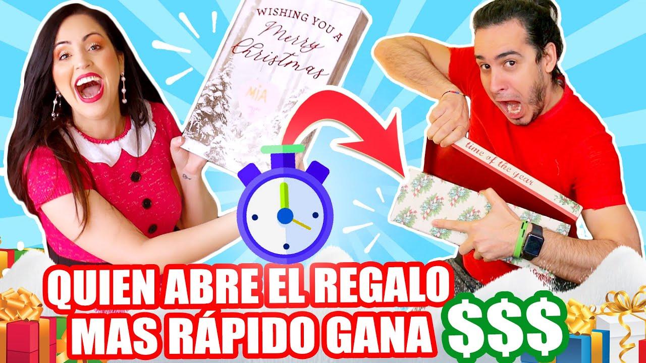 Quien Abre El Regalo Mas Rapido Gana Dinero Competencia Navidad En Familia Sandra Cires Art Video Analysis Report