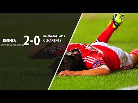 Benfica 2-0 Olhanense - Relato