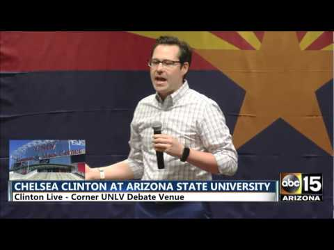 FULL Chelsea Clinton stumps for Hillary Clinton at Arizona State University