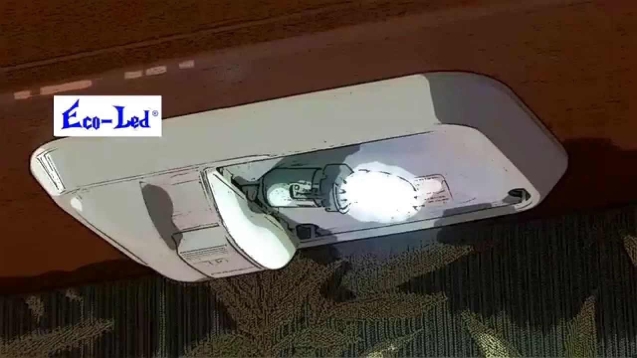 Rv Led Lighting With Dimmer Wireless Wall Switch Rv Diy Youtube