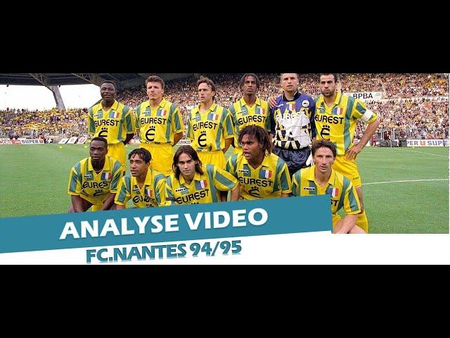 Analyse tactique du FC.Nantes 94/95
