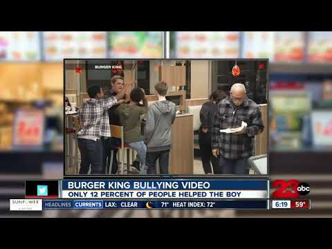 Burger King releases anti-bullying ad with new perspective