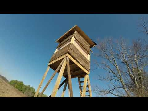 Tower Deer Stand With Elevators Brackets Slideshow Doovi