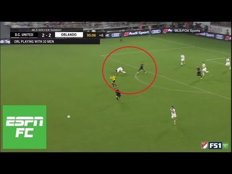 Wayne Rooney's incredible tackle and assist: Did referee miss a foul call? | ESPN FC