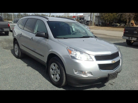 2010 Chevrolet Traverse 1LS - Start Up, Walk Around & Full Tour