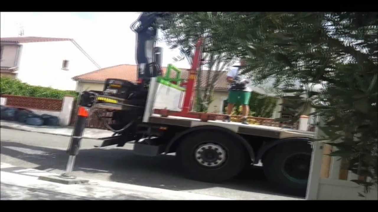 Livraison de mat riaux de construction sur les chantiers du b timent youtube - Livraison materiaux de construction ...