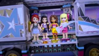 Новинки Лего Подружки (Lego Friends) - Поп Звезда!