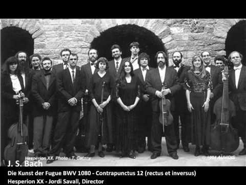 J. S. Bach - Contrapunctus 12 (Rectus Et Inversus) - Die Kunst Der Fugue BWV 1080