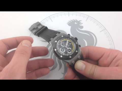Audemars Piguet Royal Oak Offshore Sebastien Buemi Luxury Watch Review
