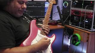 Panos Antonio Arvanitis - Emerald Bay Signature guitar - Neoclassical Yngwie Malmsteen Style