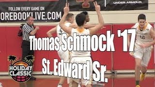Thomas Schmock '17, St. Edward Senior Year, 2016 UA Holiday Classic