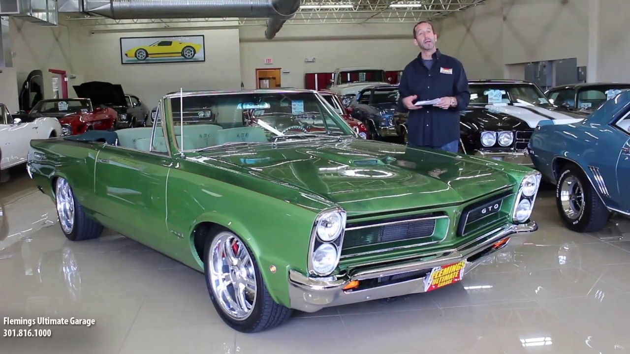 1967 Gto For Sale >> 1965 PONTIAC GTO PRO-TOURING for sale with test drive, driving sounds, and walk through video ...