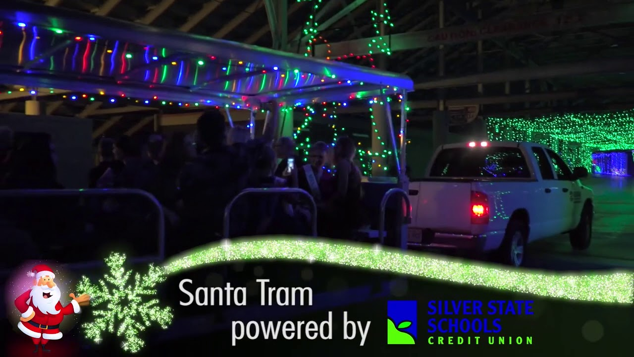 Santa Tram Tickets   What's the Scoop? | Glittering Lights at Las