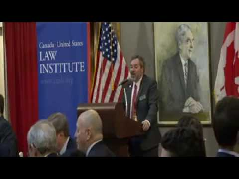 Canada U.S. Opening Address & Distinguished Lecture