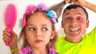 Kids Song about Daddy and daughters + More Songs for Kids by Maya and Mary