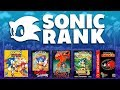 SONIC RANK: Is Sonic Mania the Best 2D Sonic Game?