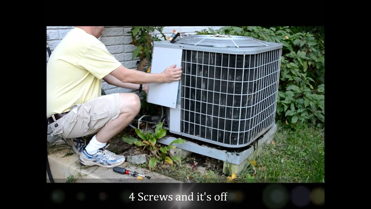 How To Replace A Heat Pump Central Air Conditioner