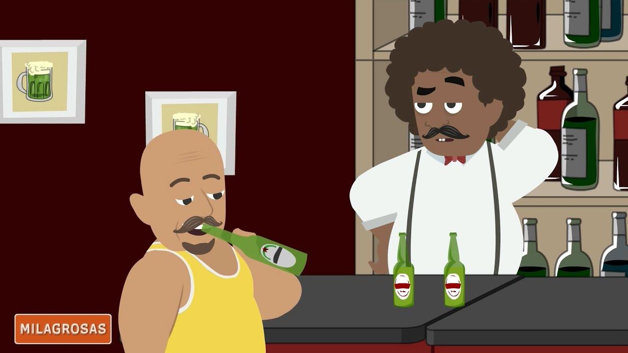 Chistes de borrachos   Tres cervezas