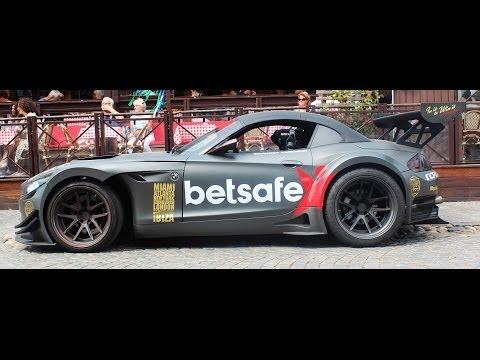 Jens Byggmarks Gumball 3000 BMW Z4 GT3 - BRUTAL REVS