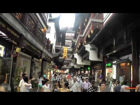 Shanghai Old Town and Bazaar - Trip to China part 53 - Full HD travel video