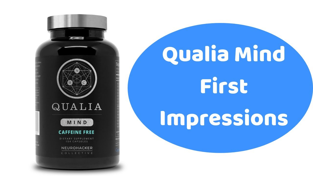 Qualia Mind Does It Work? - First Time Day Taking It