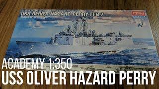 USS Oliver Hazard Perry FFG-7 1/350 Academy Inbox Review