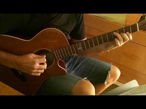 Classical Studies for Pick-style guitar(Sarabande J.S.Bach)