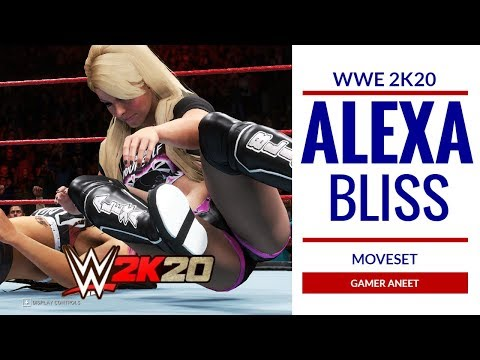 WWE 2K20 ALEXA BLISS MOVESET FT. TWISTED BLISS INSULT TO INJURY SIGNATURE FINISHER