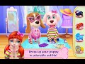 """Puppy Life Secret Pet Party """"Coco Play By TabTale Casual Games"""" Android Apps Game Video"""