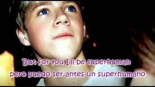 One Direction - Save You Tonight Lyrics English & Spanish