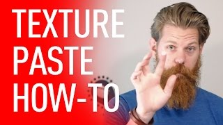 How To Use Texture Paste In Your Hair & Beard | Eric Bandholz