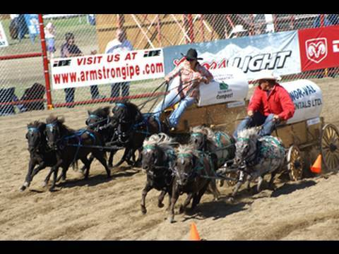 Chuck Wagon Race - Miniatures! * 2009...