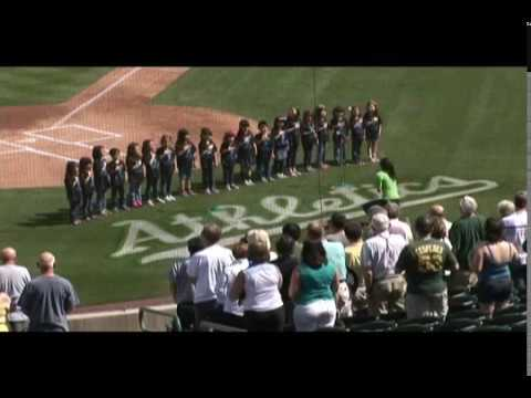 Arizona Gakuen Chorus Performs the National Anthem 3-4-14