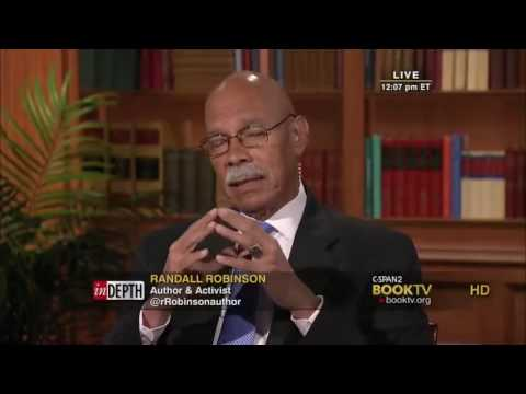 Randall Robinson, is an African-American lawyer, author and activist,