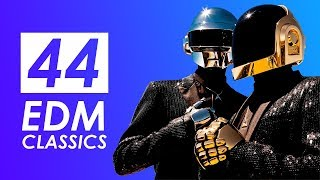 44 EDM CLASSICS - classic 90s edm songs