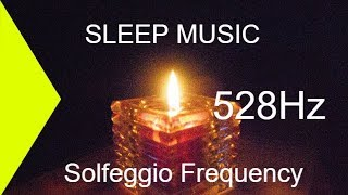 30 Minute Sleep Music - Solfeggio 528Hz Healing Instrumental Sleep Music - Relaxing Music