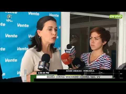 Venezuela. Maria Corina Machado habló sobre las municipales -VPItv
