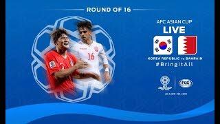 Trực tiếp bóng đá Asian Cup 2019 giữa đội tuyển Hàn Quốc - Bahrain