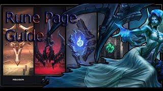 New Pre-season 8 Morgana Full Rune Page Guide