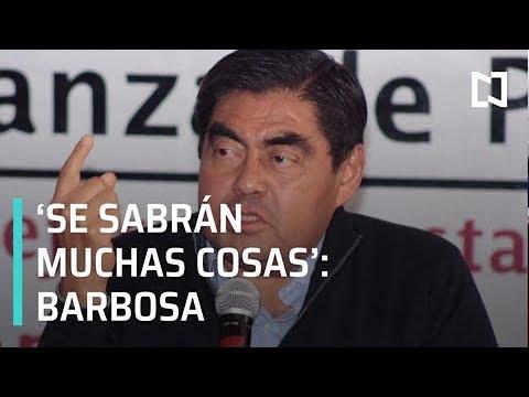 Estoy tranquilo y no voy a desestabilizar Puebla, dice Miguel Barbosa - Despierta con Loret
