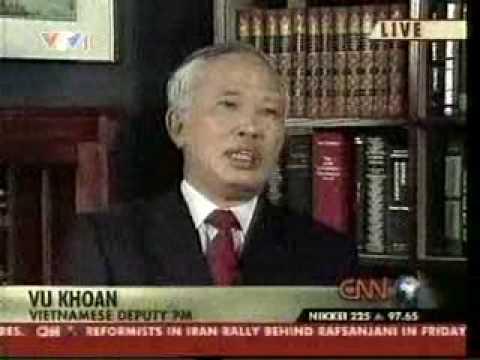 Phó Thủ Tướng trả lời CNN