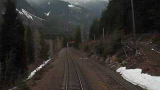 Empire Builder Climbing Cascade Mountains & Cascade Tunnel